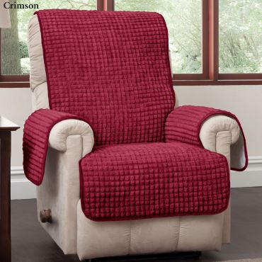 Premier Puff Pet Furniture Cover in Crimson