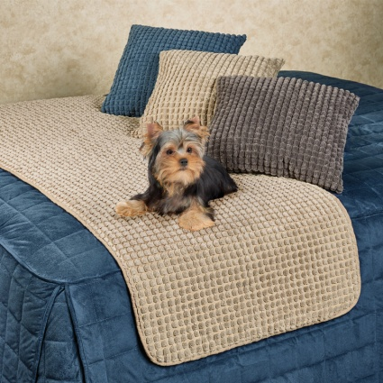Premier Puff Pet Bed Protector in Natural