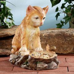 Natural Curiosity Cat Sculpture