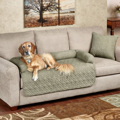 Mason Pet Furniture Cover with Bolster