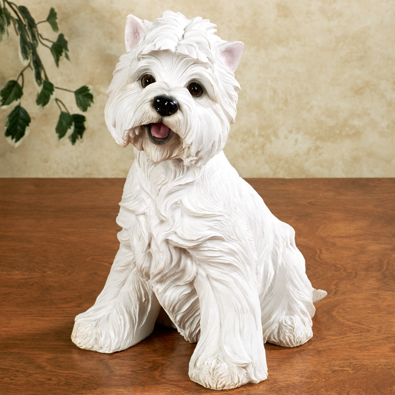 West Highland White Terrier Dog Sculpture