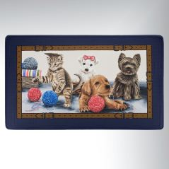 Playtime Pet-Themed Comfort Mat