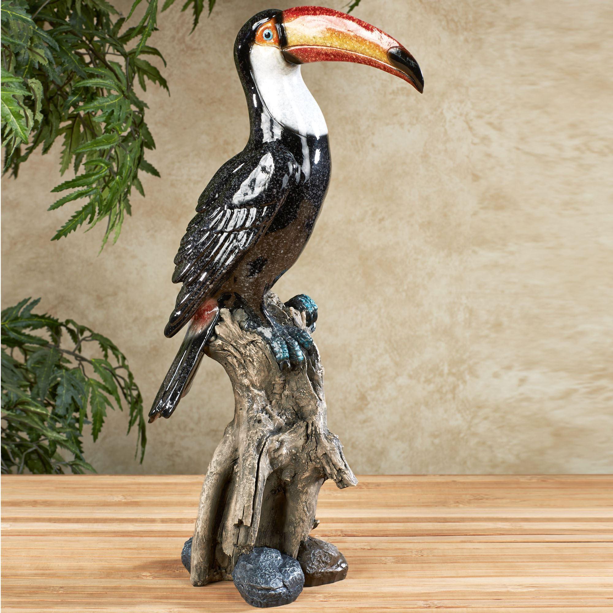 Tropical Friends Toucan Table Sculpture