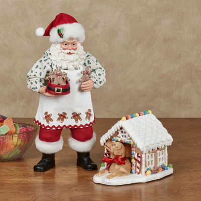 And Everything Nice Clothtique Santa Figurine