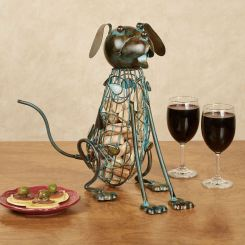 Dog Wine Cork Caddy