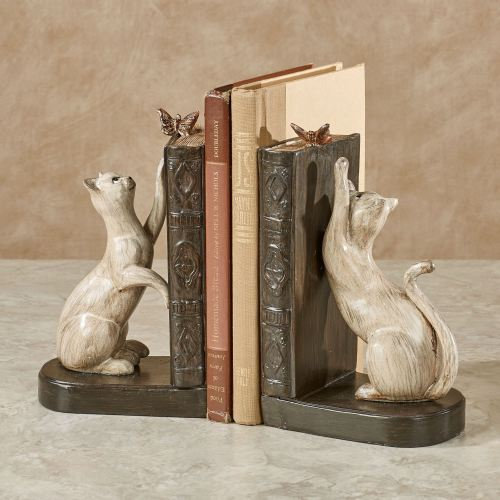 Playful Cats Bookends