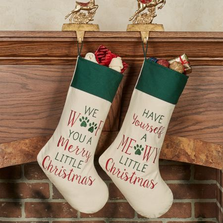 Merry Pet Christmas Stockings