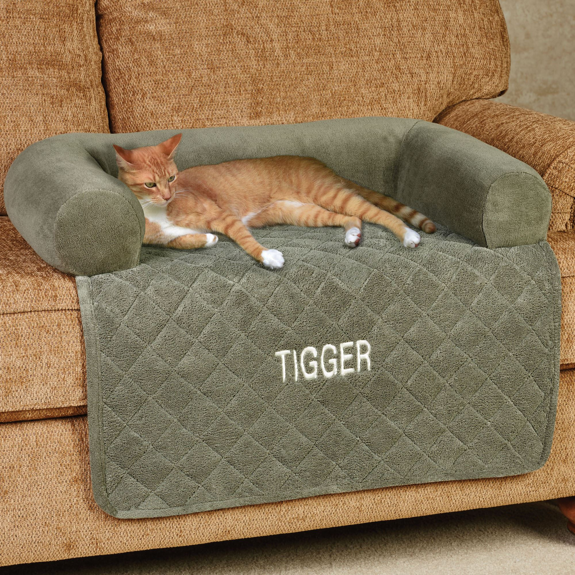 Ultimate Microplush Pet Cover with Bolster