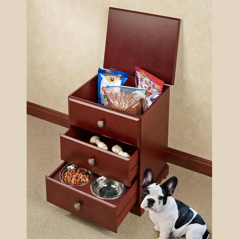 Pet Food Hideaway Storage Unit