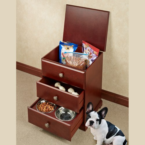 Pet Food Hideaway Storage Unit