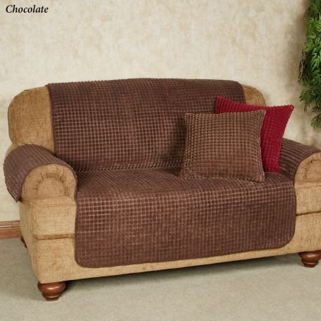 Premier Puff Furniture Cover in Chocolate