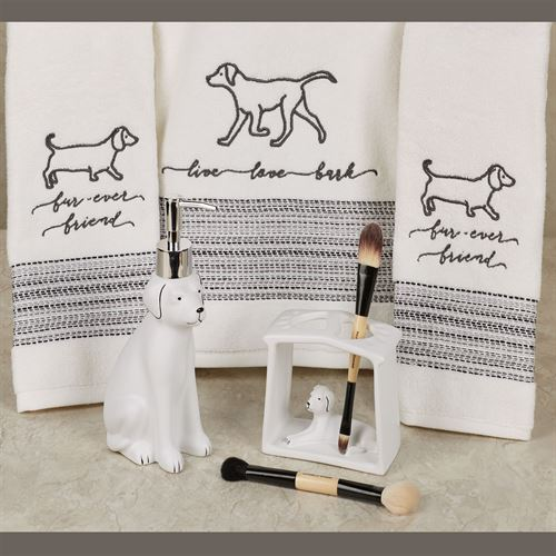 Farmhouse Dogs 5 pc Bath Set