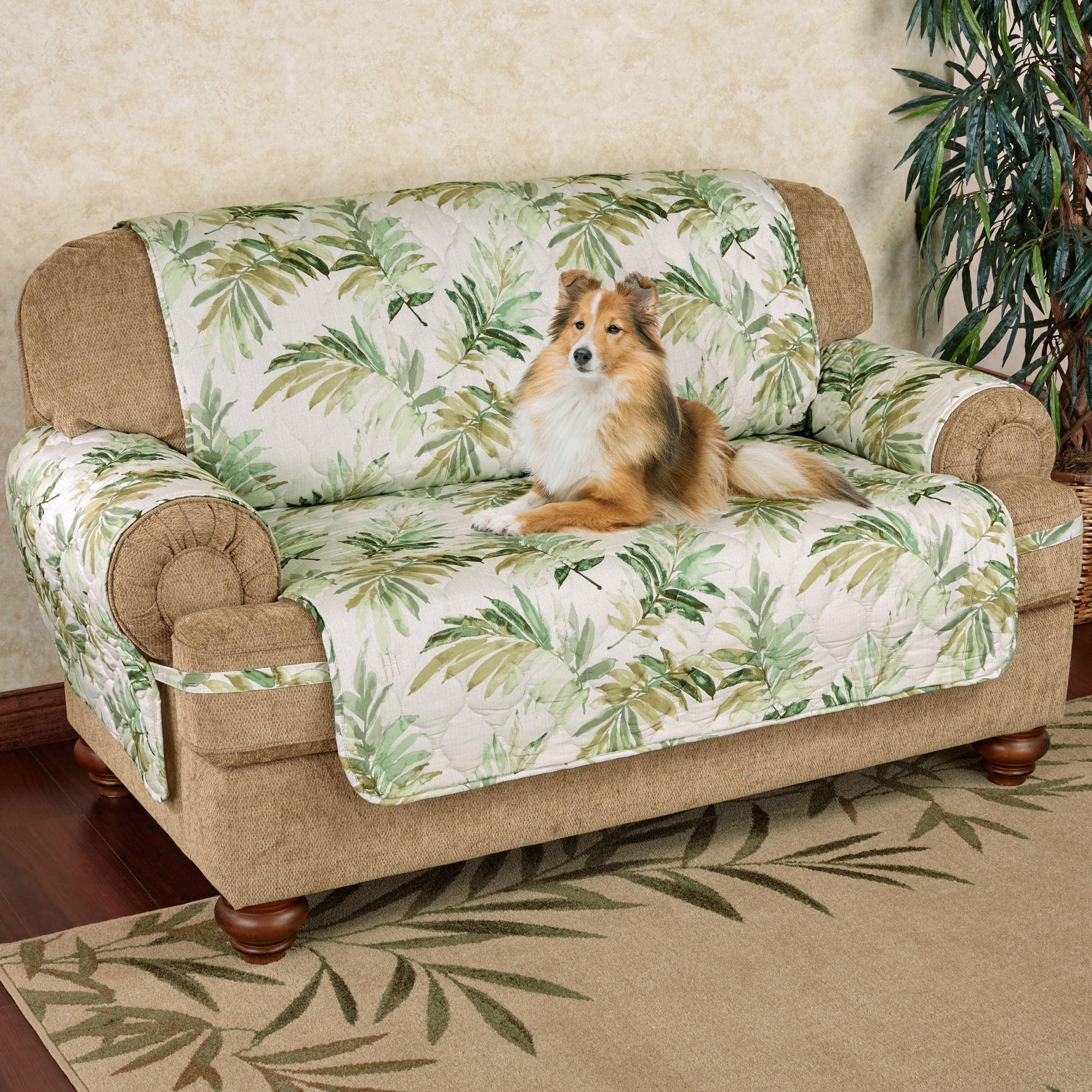 Paradise Leaf Tropical Furniture Cover
